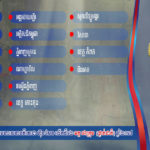 Hun Sen Cup ត្រឡប់មកវិញថ្ងៃស្អែកនូវវគ្គ១៦ក្រុមចុងក្រោយ (ថ្នាក់ជាតិ)