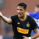 Sanchez រកគ្រាប់បាល់ដំបូងឱ្យ Inter Milan តែក៏បានកាតក្រហមដែរ